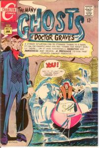 MANY GHOSTS OF DOCTOR GRAVES (1967-1982 CH) 11 F+ COMICS BOOK