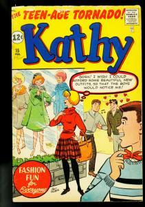 Kathy Comics #15 1962- Paper Dolls- Stan Goldberg- F/G
