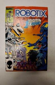 Robotix #1 (1986) NM Marvel Comic Book J679