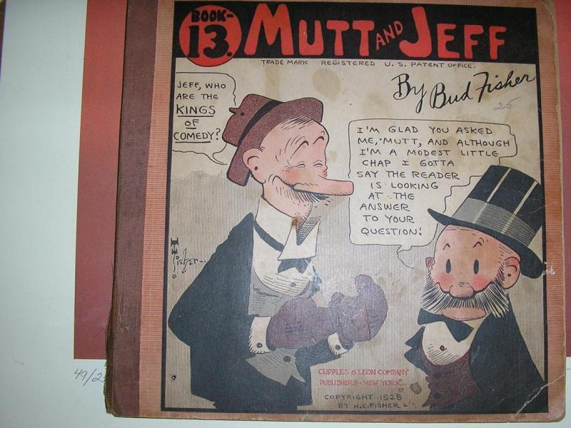 MUTT & JEFF  (1919-1934 CUPPLES & LEON) BOOK 13 FAIR