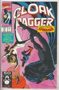 Cloak and Dagger #17 (Apr-91) NM Super-High-Grade Cloak, Dagger