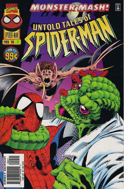 Untold Tales of Spider-Man #9 VF/NM; Marvel | combined shipping available - deta