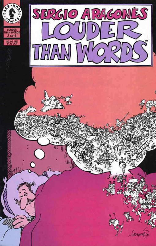 Louder than Words (Sergio Aragonés'…) #2 FN; Dark Horse | combined shipping avai
