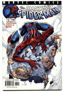 AMAZING SPIDER-MAN Vol 2 #30 1st  Ezekiel & Morlun VF/NM