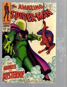 Amazing Spider-Man # 66 VF Marvel Comic Book MJ Vulture Goblin Scorpion TJ1