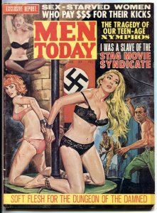 Men Today August 1965- wild whipping cover- Stag Movie Syndicate