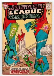 Justice League of America #18 (Mar-63) FN/VF Mid-High-Grade Justice League of...