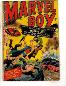 Marvel Boy # 1 VG- Atlas Comic Book Golden Age Space Ship Classic Cover BE1