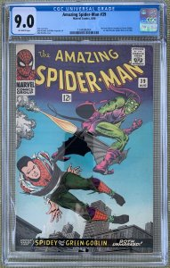 Amazing Spider-Man #39 (1966) CGC 9.0 -- 1st Romita; Norman Osborne revealed