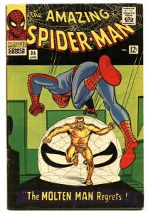 Amazing Spider-man #35 1966- Molten Man Marvel Silver Age