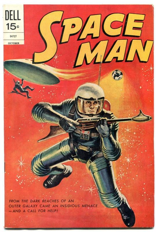 Space Man #10 1972- Dell Comics last issue FN