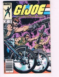 G.I.Joe A Real American Hero #35 FN/VF Marvel Comic Book 1982 DE8