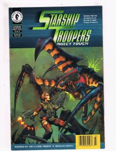 Starship Troopers Insect Touch # 3 VF/NM Dark Horse Comic Books The Mask!!!! SW8
