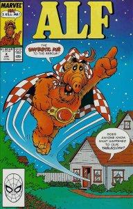 Alf #4 VF/NM; Marvel | save on shipping - details inside