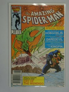 Amazing Spider-Man #277 Newsstand edition 8.0 VF (1986 1st Series)