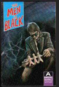 MEN IN BLACK #3-1990-AIRCEL-COPPER AGE-NICE COPY-HIGH GRADE-NM