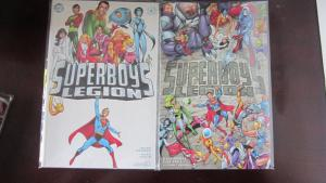 Superboy's Legion #1 to #2 whole set - VF - 2001