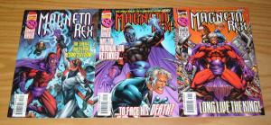 Magneto Rex #1-3 VF/NM complete series - brandon peterson - rogue quicksilver 2