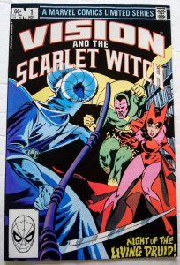 VISION AND THE SCARLET WITCH #1 (1982) Marvel Comics Rick Leonardi