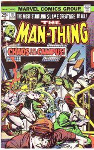 Man-Thing #18 (Jul-75) VF/NM High-Grade Man-Thing