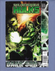 Incredible Hulk #613 VF Newsstand Edition HTF Marvel 2010