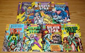 Jack Kirby's Silver Star #1-6 VF/NM complete series + vol. 2 #1 pacific comics