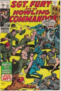 SERGEANT FURY 82 VF December 1970