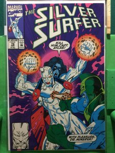 Silver Surfer #79 guest starring Atlas and Dr Minerva