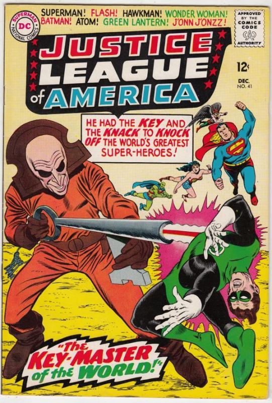 Justice League of America #41 (Dec-65) NM/NM- High-Grade Justice League of Am...