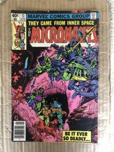 Micronauts #13 (1980)