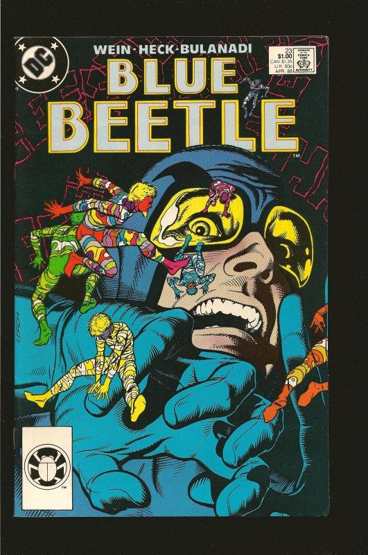 DC Comics Blue Beetle No 23 1988