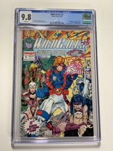 Wildcats 1 Cgc 9.8 White Pages Image Comics