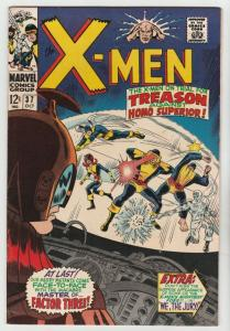 X-Men #37 (Nov-67) VF/NM High-Grade X-Men