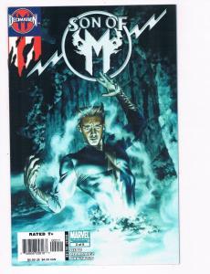 Son Of M # 2 NM Marvel Comics Limited Series X-Men Magneto Quicksilver S93