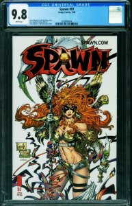 Spawn #97 CGC 9.8 WHITE PAGES-IMAGE 2000 2039899004