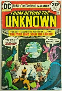 FROM BEYOND THE UNKNOWN#25  FN 1973 DC BRONZE AGE COMICS
