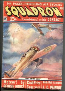 Squadron #2 Aug 1934 Pulp mag-Air War-George Bruce
