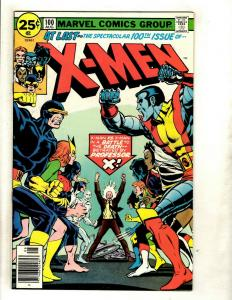 (Uncanny) X-Men # 100 VF/NM Marvel Comic Book Cyclops Beast Iceman Angel GK4