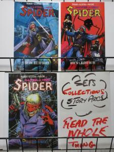 SPIDER (1991 EC) BOOKS  1-3  Tim Truman Complete Story!
