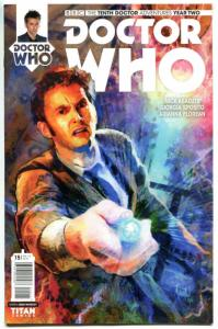 DOCTOR WHO #15 A, NM, 10th, Tardis, 2015, Titan, 1st, more DW in store, Sci-fi