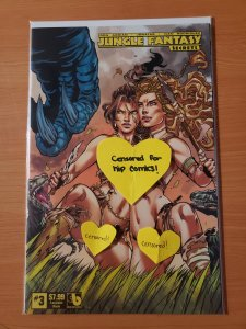 Jungle Fantasy Secrets #3 Luscious Nude Variant Cover