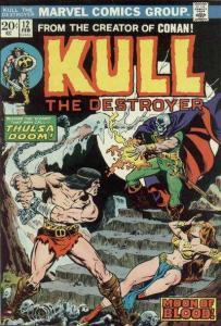 Kull the Conqueror (1971 series) #12, Fine+ (Stock photo)