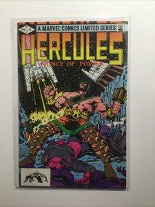 Hercules 1 Near Mint Nm Marvel