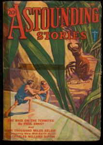 ASTOUNDING STORIES 1932 JUN-CLAYTON PULP G