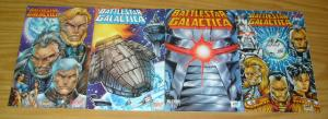 Battlestar Galactica #1-4 VF/NM complete series - rob liefeld - maximum press
