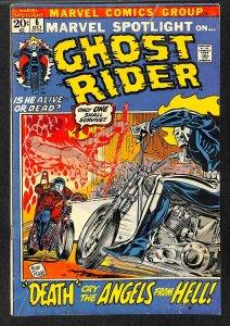 Marvel Spotlight #6 VG- 3.5 2nd Ghost Rider! Comics
