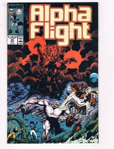 Alpha Flight #58 VF Marvel Comics Comic Book May 1988 DE23