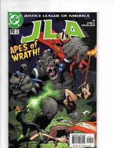 DC Comics JLA #92 Apes of Wrath! Batman Flash Green Lantern Superman Plastic Man