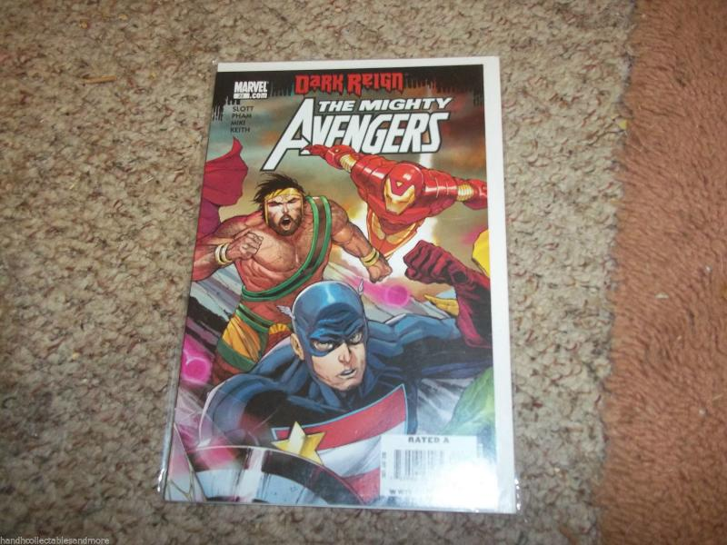 MIGHTY AVENGERS COMIC  # 22 vol 1    dark reign ironman captain america
