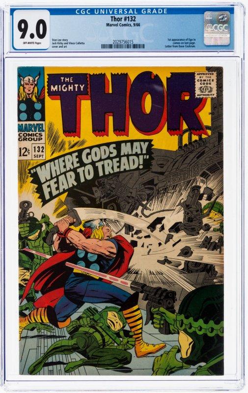 Thor #132 (Marvel, 1966) CGC 9.0